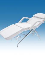 Козметичен стол-легло тройно чупещо се с табуретка - 2201