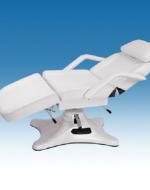 Луксозен козметичен стол-легло тройно чупещо с хидравлика - 2205