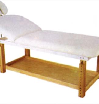 Дървена масажна кушетка 1/3 чупеща се - 2215