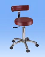 Стол на 5 колелца с пневмопатрон - 1023А