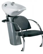 Измивка колона с дълбока бяла мивка - КС-6100